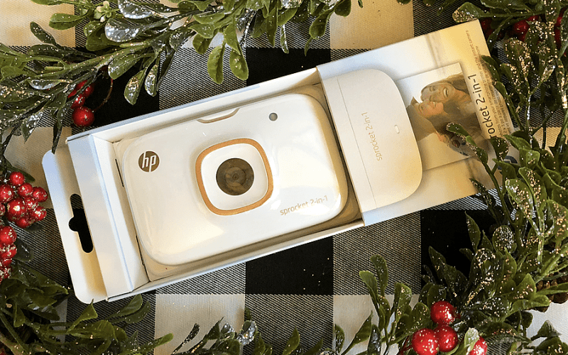 Hp sprocket 2 in 1 gift idea