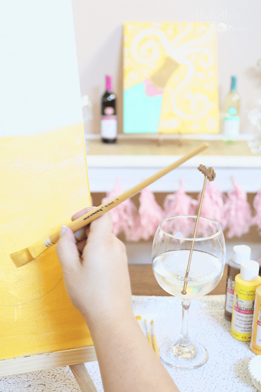NYE Paint and Sip Girls Night In - Craft Night