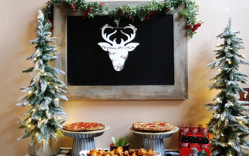 Easy Holiday Party Ideas + Buffalo Wing Recipe