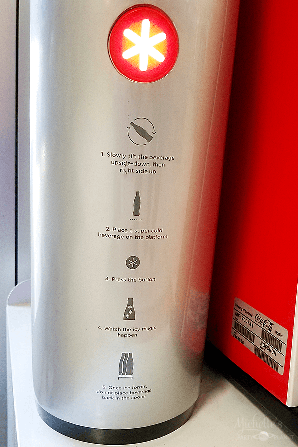 Arctic Coke Directions