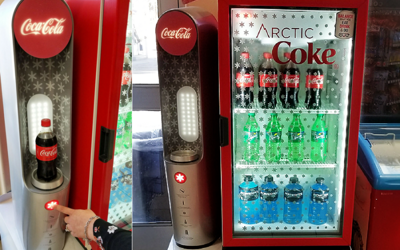 Make Icy Magic with Arctic Coke