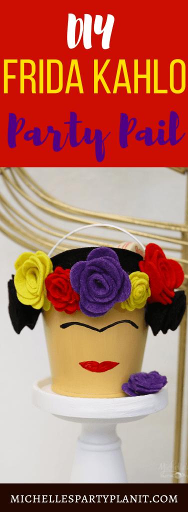 Frida Kahlo Party Pail