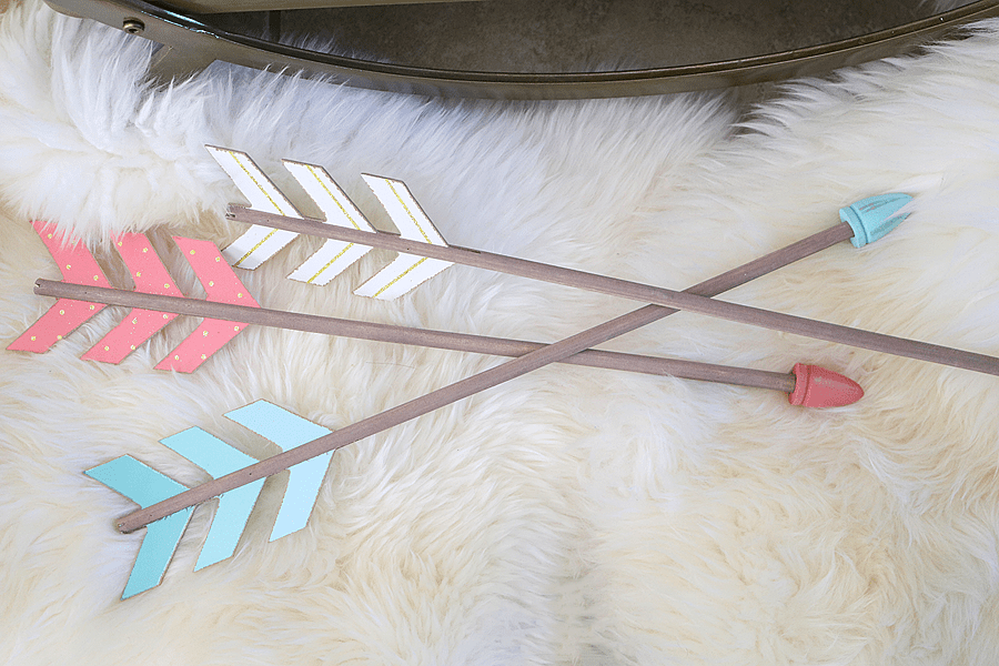 Wooden Arrow Decorations