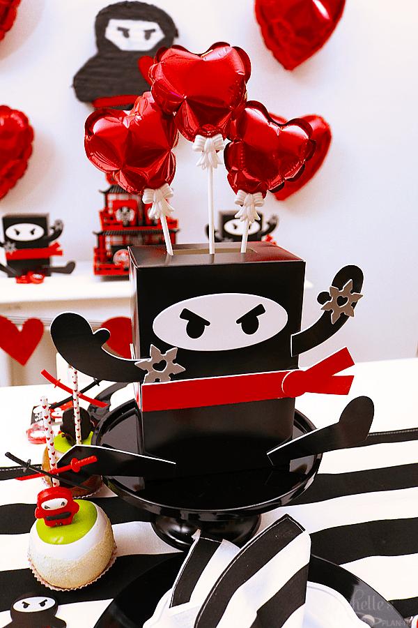 You Stole My Heart Valentine  Party Centerpiece