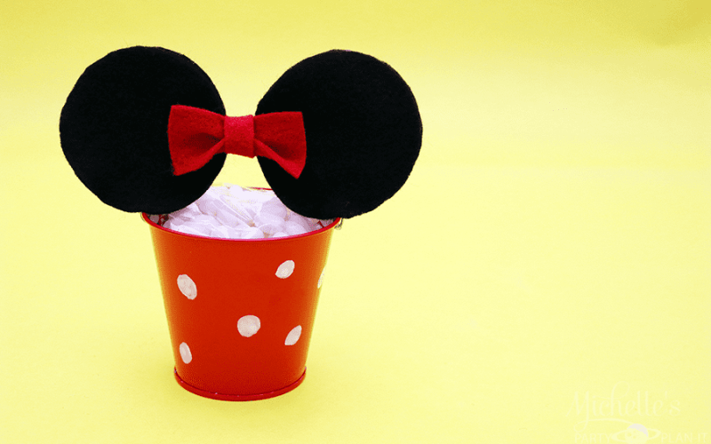 Rock the Dots with Minnie Mouse Party Pails