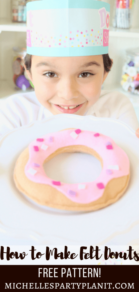 How to Make Felt Donuts & Bakery Goodies - Free Patterns Included