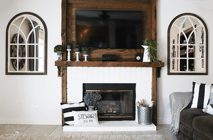 Family Room and Fireplace Refresh