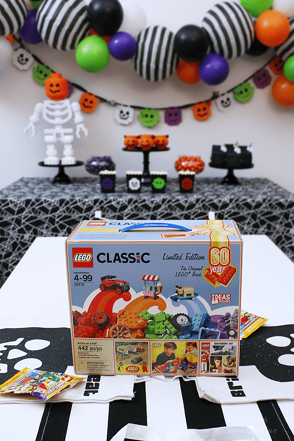 Lego Brick or Treat Halloween Party