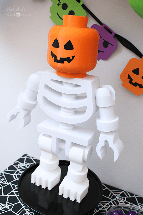 Lego Skeleton Figurine