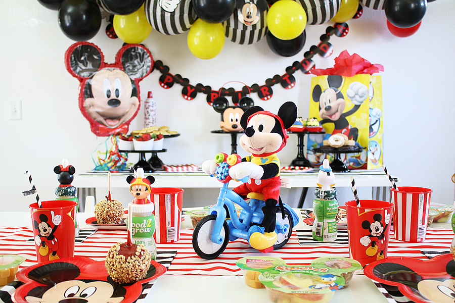 How To Plan A Mickey Mouse Birthday Party