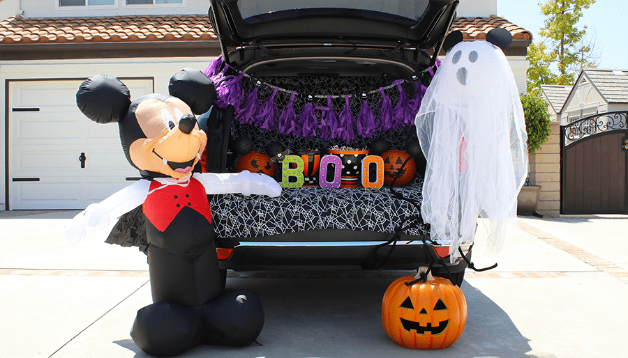 Mickey's Halloween Trunk or Treat Ideas