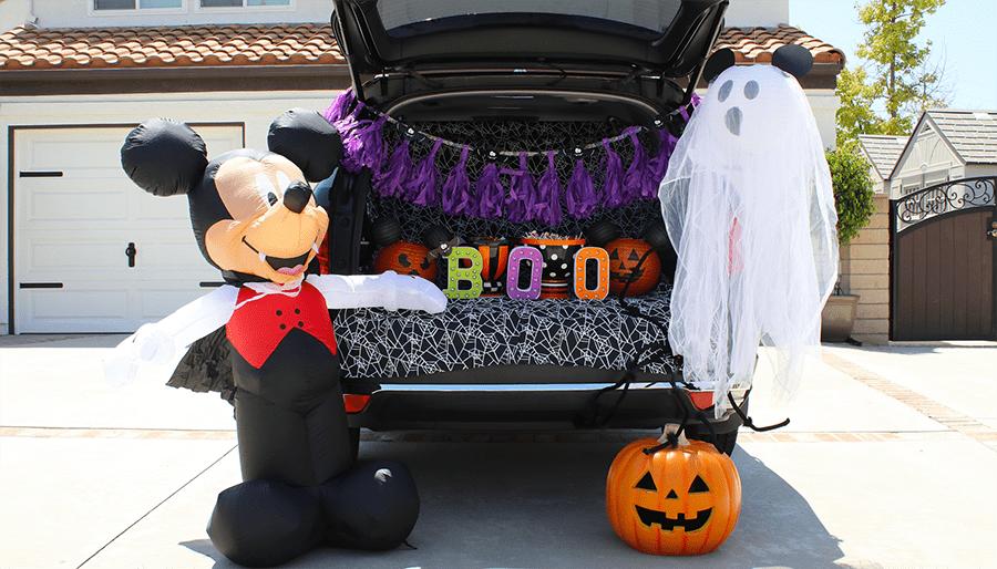 Mickey's Halloween Trunk or Treat Ideas