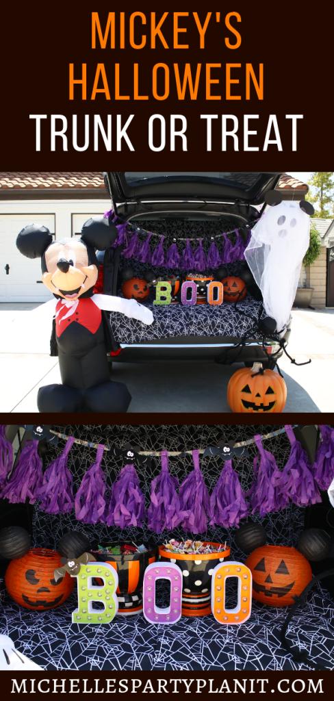 Mickey's Halloween Trunk or Treat