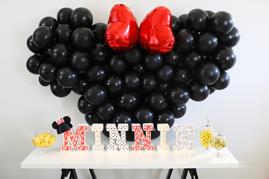 Minnie Mouse Birthday Party Ideas Michelle S Party Plan It