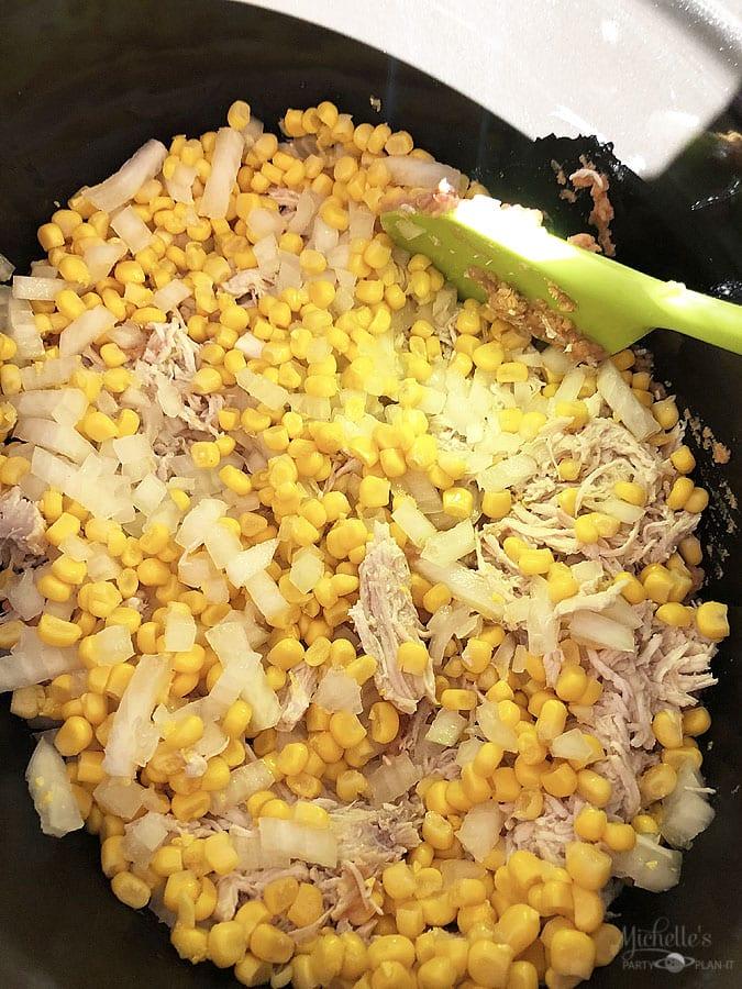 cheesy chicken enchilada dip (2)