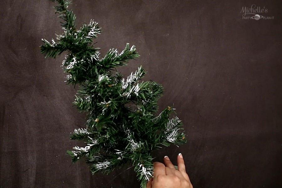 DIY FARMHOUSE TREE painted tips