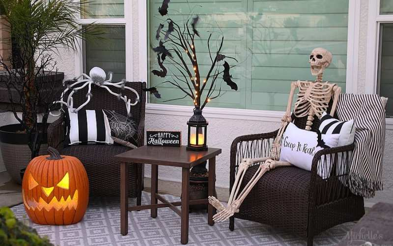 Easy Halloween Porch Decor Ideas