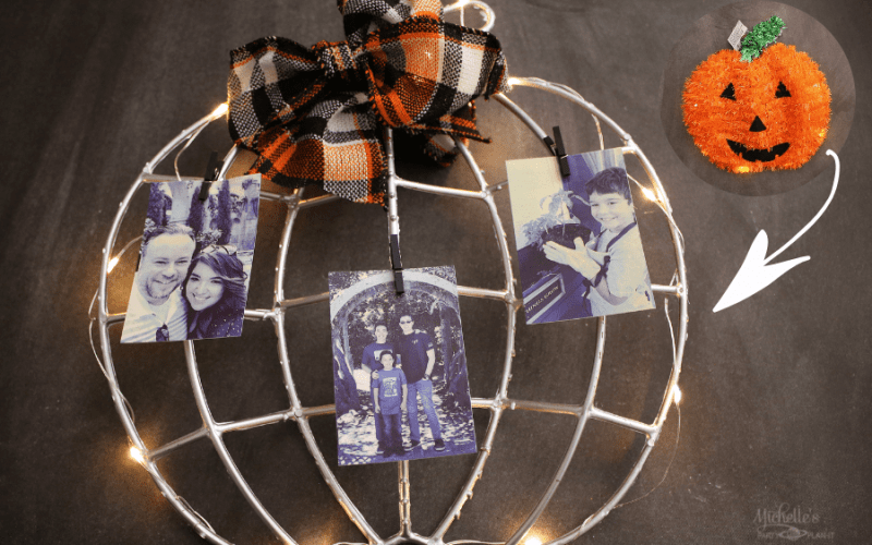 Fall photo frame