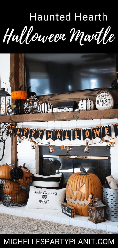 Halloween Mantle Ideas