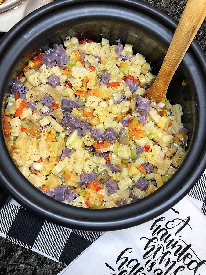 Halloween Pasta Salad Recipe