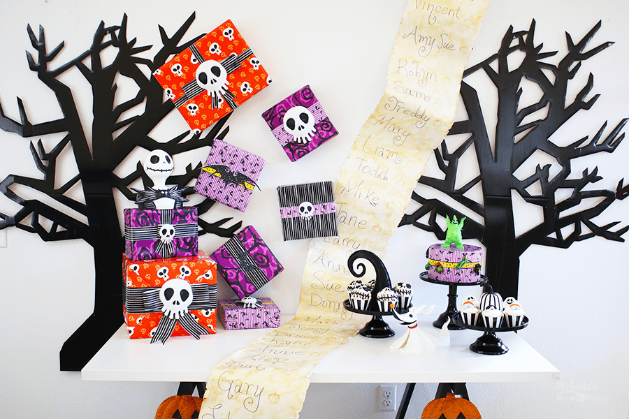 Nightmare Before Christmas Party Ideas | 25th Anniversary Celebration