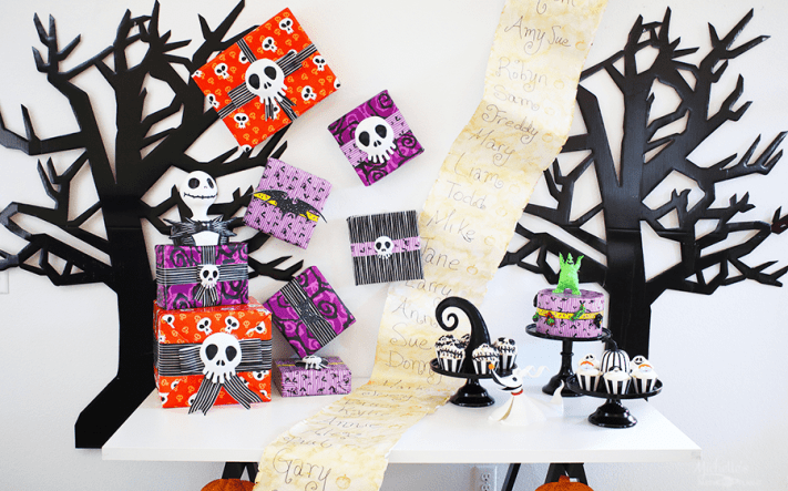 nightmare before christmas party ideas 25th anniversary celebration - Christmas Party Games For Large Groups