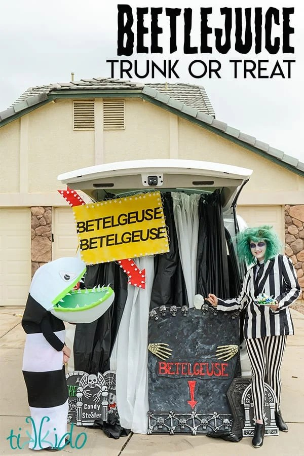 Beetlejuice Trunk or Treat
