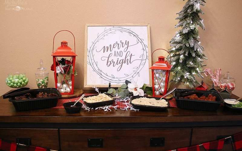 Tips for Stress Free Holiday Entertaining with Applebee's Catering