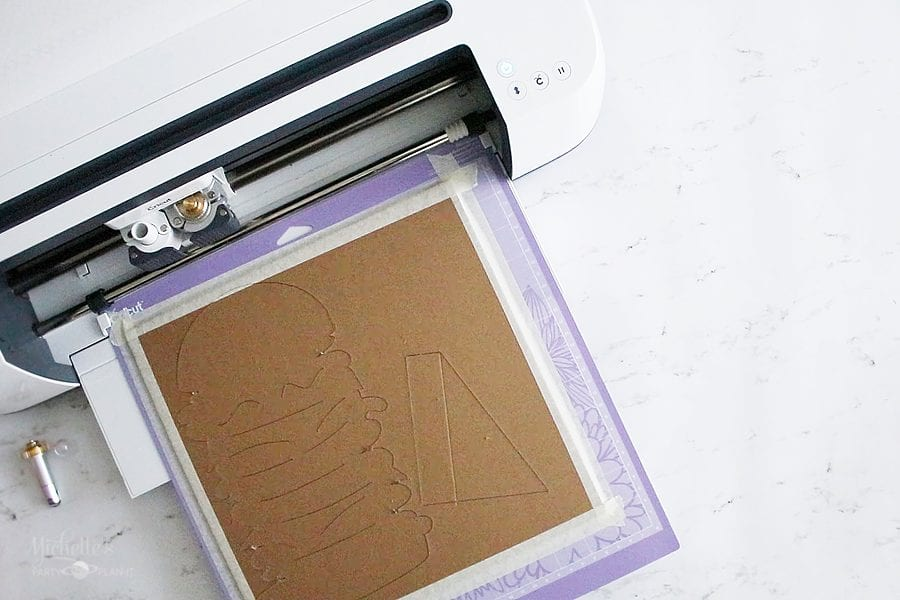 Chipboard cricut maker