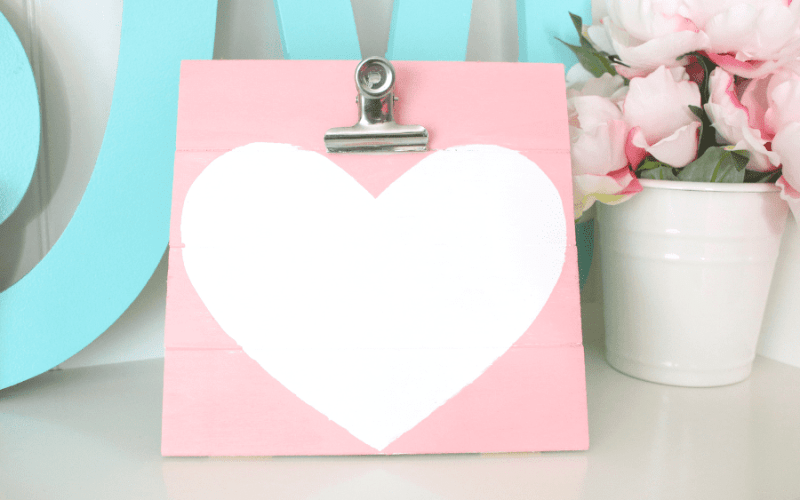 Diy love note holder