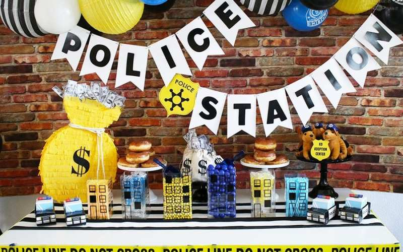 Easy Police Birthday Party Ideas