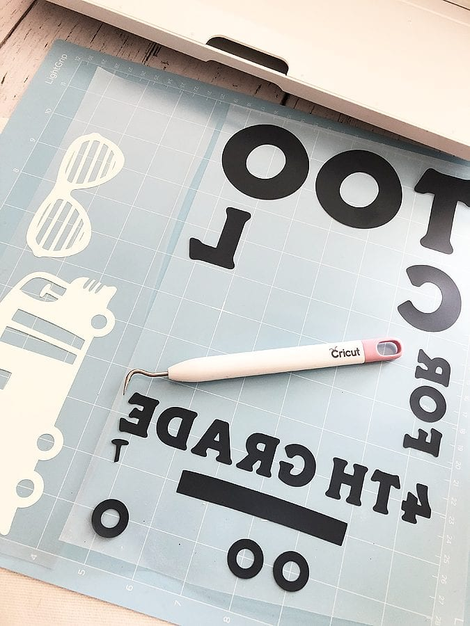Back to school with cricut 6