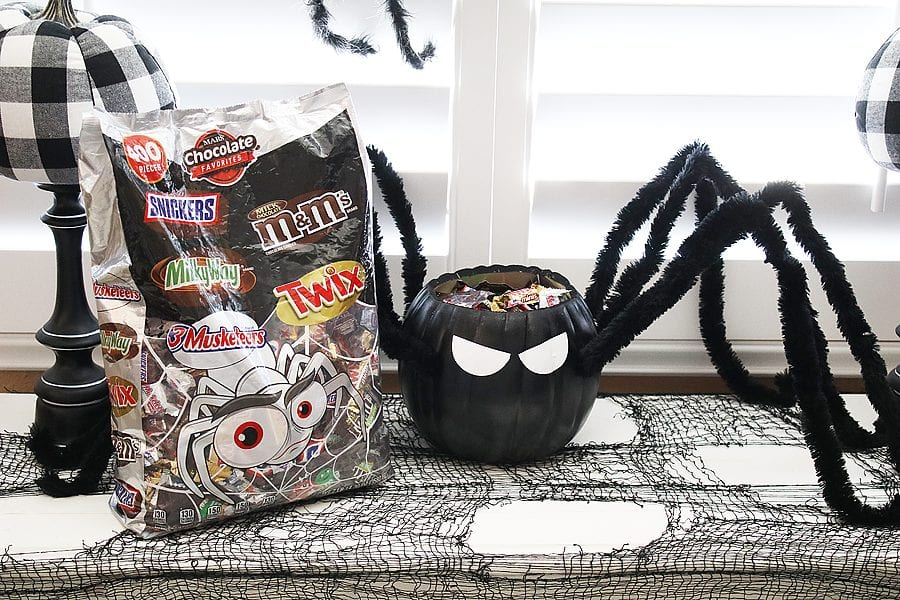 Diy spider candy bowl 18
