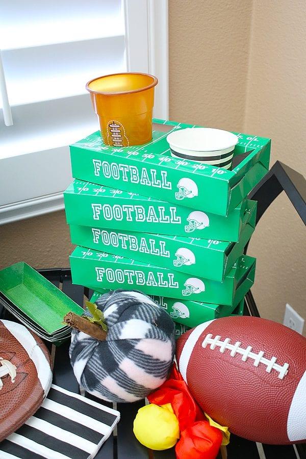 Fun fall football party ideas 18