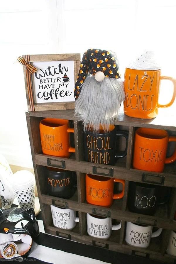 Rae dunn halloween mug collectfion