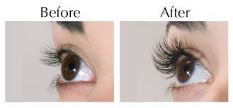 lash paradise before and after