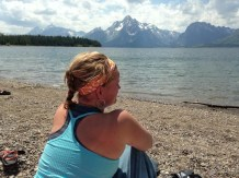 Michelle at Tetons