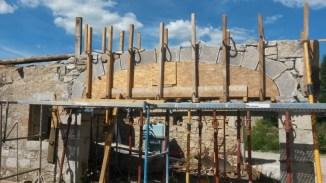 EURL MICHEL St Alban Auriolles Reconstruction d'une ancienne bâtisse