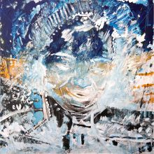 'Deep Space Woman', Universe Triptych #2