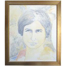 Portrait Of Mira Alfassa