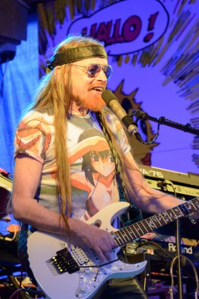 Michel Montecrossa at the Spirit of Woodstock Festival in Mirapuri, Italy