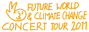 Michel Montecrossa's 'Future World & Climate Change Concert Tour 2011' Logo