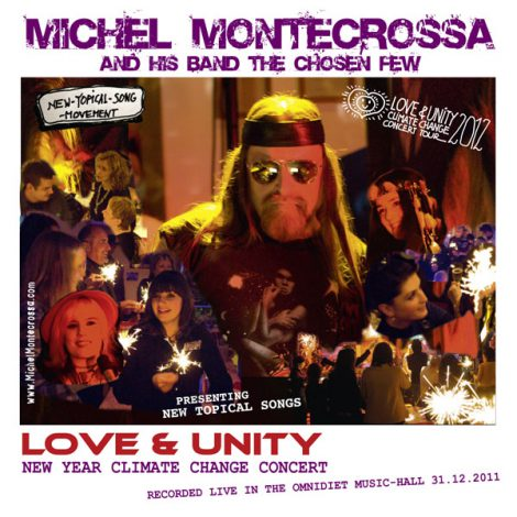 album cover - Michel Montecrossa's 'Love & Unity' New Year Concert 2012