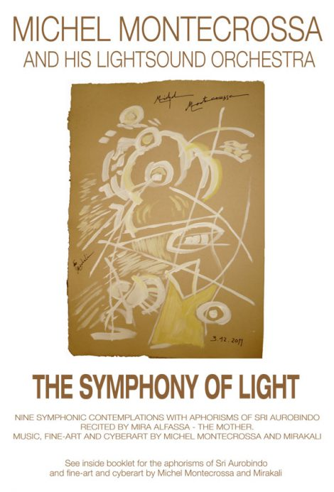 DVD-Cover - Michel Montecrossa's meditation music movie 'The Symphony of Light'