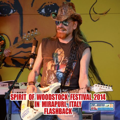 Flashback Of The Spirit Of Woodstock Festival 2014 In Mirapuri, Italy