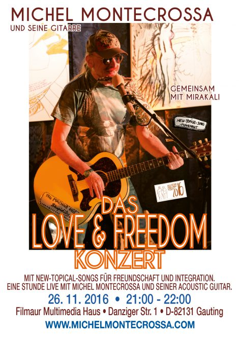 Das Love & Freedom Konzert