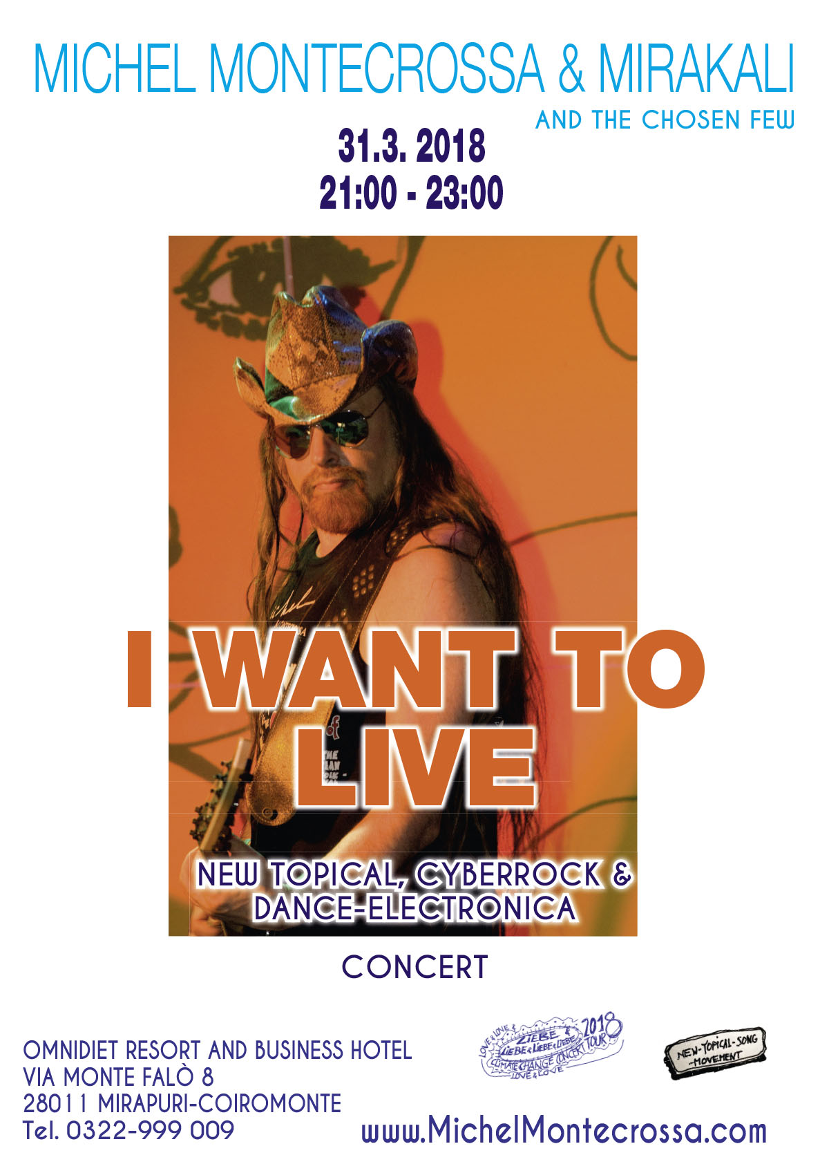 I Want To Live Concert