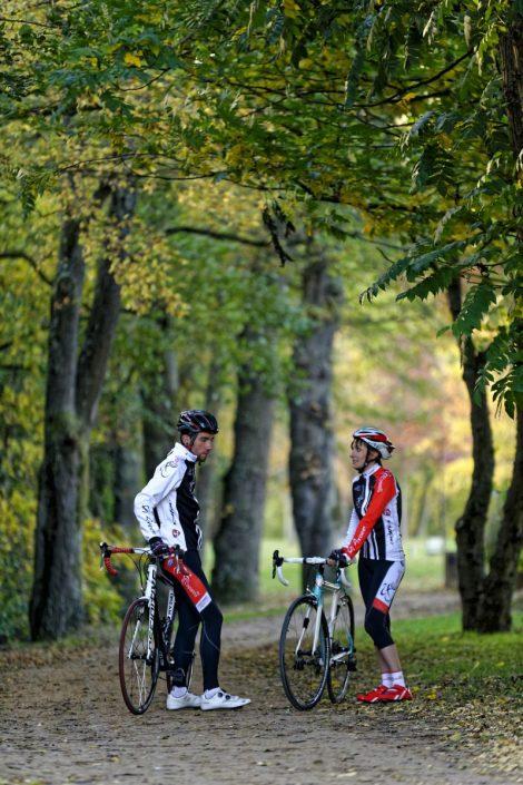 Reportage photo pour le cyclo-club Les Copains