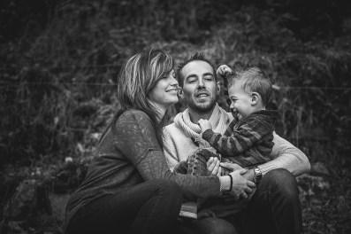 Séance photo en famille