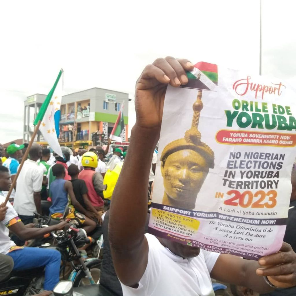 Yoruba Nation Akure rally